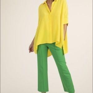 Trina Turk Silk Barbados Top Size Medium NWT